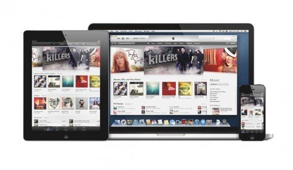 So sieht iTunes Radio aus. (Bild: Apple)
