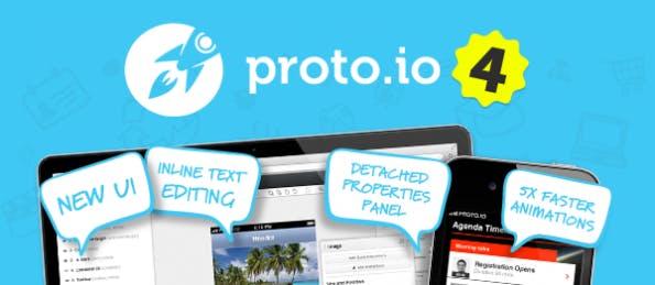 Bei Proto.io handelt es sich um eine webbasierte Lösung. (Screenshot: proto.io)