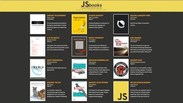 Die beste Quelle für kostenlose JavaScript-E-Books