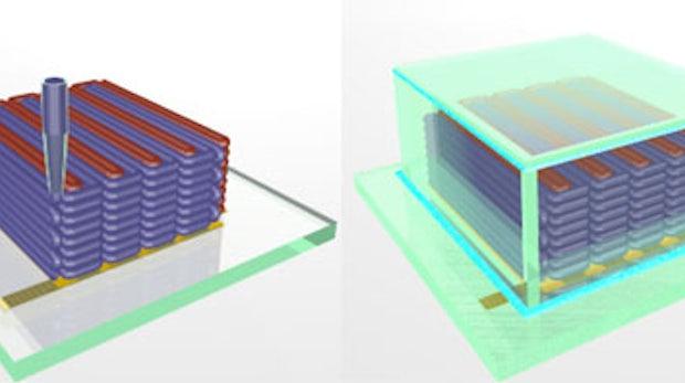 Harvard Forscher nutzen 3D-Drucker zur Herstellung winziger Akkus