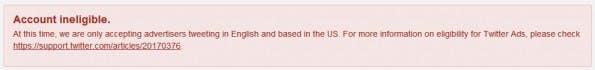 Twitter Analytics: Nicht von dem Fehler aus dem Tritt bringen lassen. Die Seite funktioniert trotzdem. (Screenshot: Twitter)