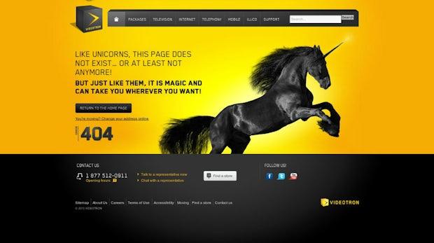 33 unglaublich kreative 404-Fehlerseiten