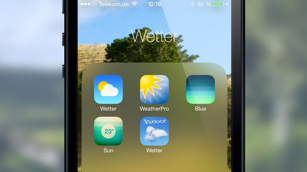 Die besten Alternativen zur neuen Wetter-App von iOS 7