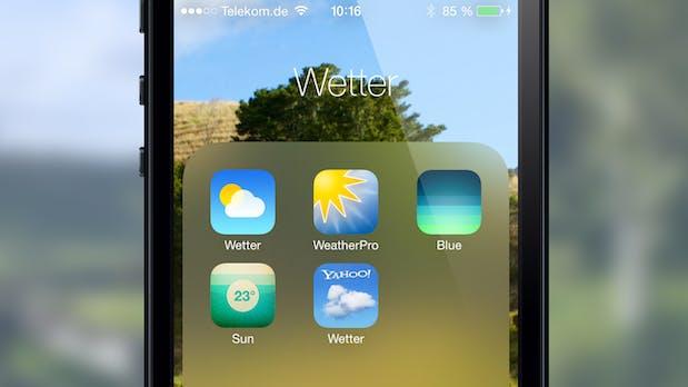 Die Besten Alternativen Zur Neuen Wetter App Von Ios 7