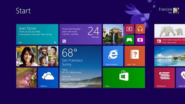 Windows 8.1: Kostenloses Update kommt am 17. Oktober