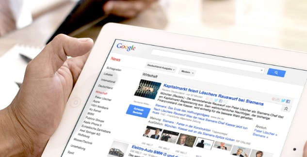 Mit Karten, aber ohne Snippets: Google News mit großem Redesign