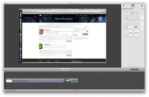 Screenflow gehört zu den praktischen Entwickler-Tools für Apple-Entwickler.