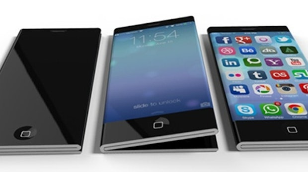 iPhone 6: Eigenwilliges Design-Konzept mit faltbarem Display