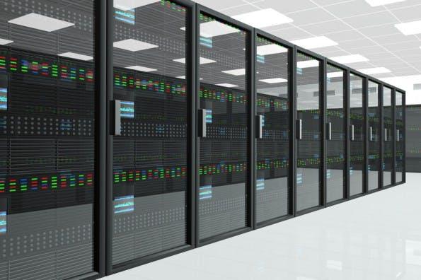 CPU Unit Server Room Data Center