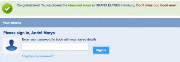 (Screenshot Booking.com)