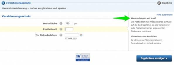 (Screenshot: Check24.de)