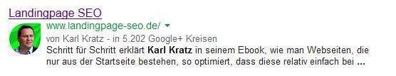 Karl Kratz nutzt einen grünen Pfeil.
