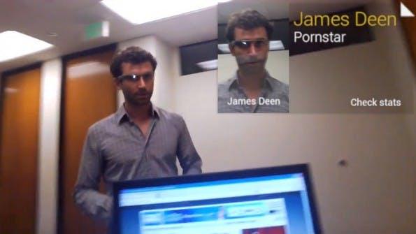 Google-Glass-Porno: Gesichtserkennung duldet Google derzeit nicht in Glass-Apps. (Bild: MiKandi/YouTube)