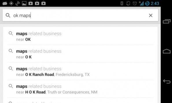"Google Maps: ""OK Maps"" speichert die Karte. (Bild: Antuan Goodwin/CNET)"