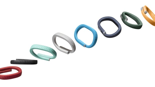 Jawbone UP: Buntes Fitness-Armband im Test