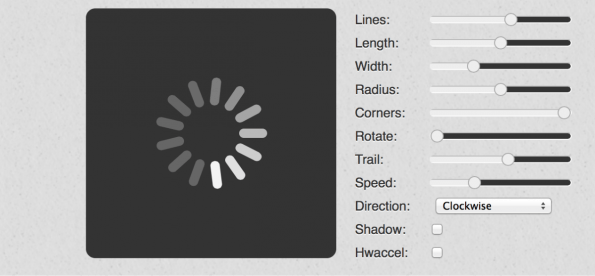 Spin.js