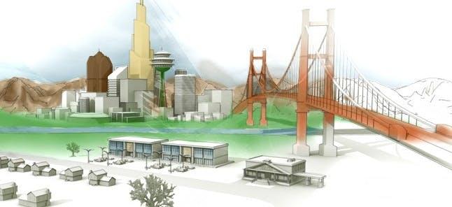"""Content Marketing: Ein gutes Beispiel liefert IBM mit dem Simulationsspiel """"CityOne"""". (Screenshot: ibm.com)"""
