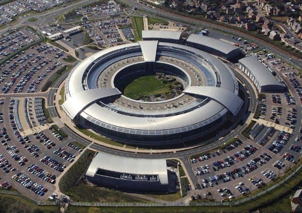 Die Zentrale des britischen GCHQ in Cheltenham. (Bild: Wikimedia Commons / Ministry of Defence Lizenz: Open Government License 1.0)