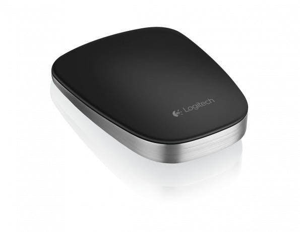 Die Oberfläche der Ultrathin Touch Mouse T630 ist berührungsempfindlich und ermöglicht damit das Ausführen von Fingergesten.