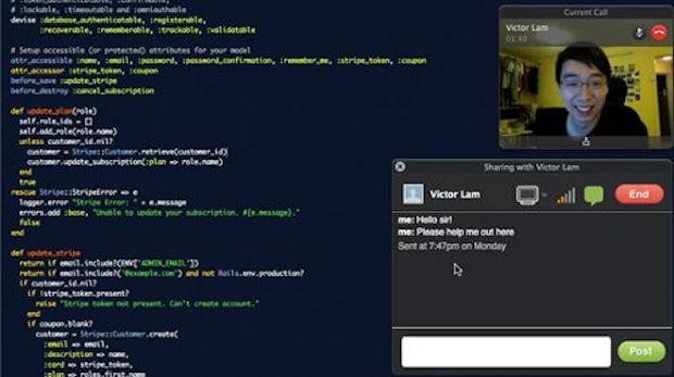 Codementor: Entwickler bekommen per Videochat Hilfe bei Code-Problemen