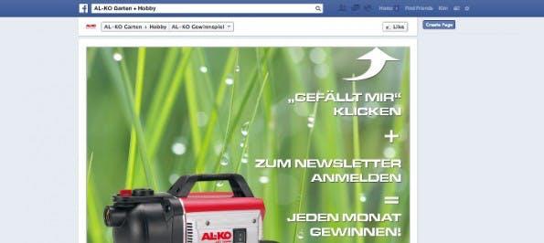 Facebook: Gewinnspiele könne in Zukunft auch ohne Apps realisiert werden. (Screenshot: Facebook)