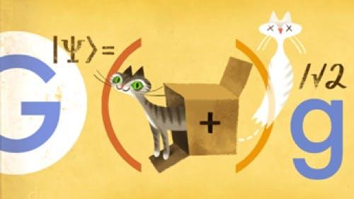 Cat-Content: Google-Doodle ehrt Schrödingers Katze