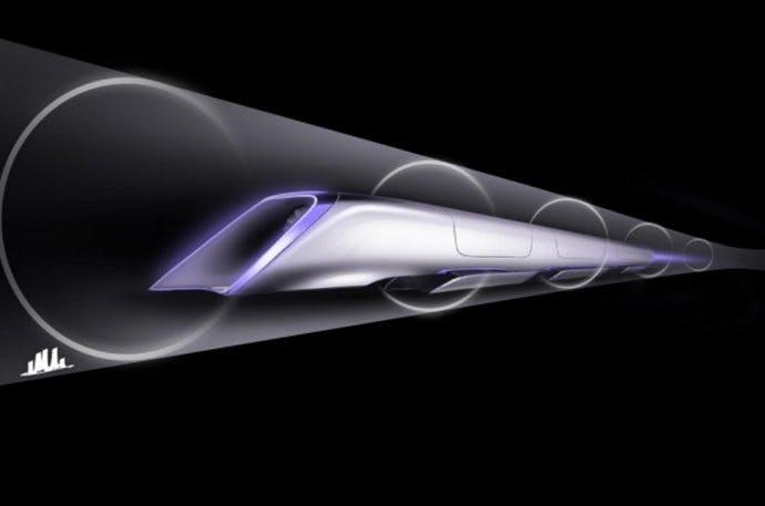 Von München nach Berlin im Hyperloop? Lufthansa prüft Einsatz der Elon-Musk-Idee