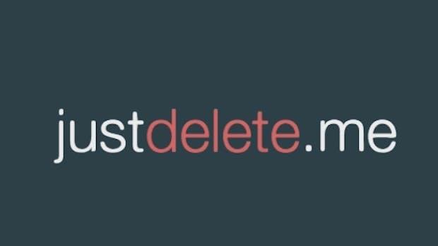 Justdelete.me hilft euch beim Löschen von Onlinekonten