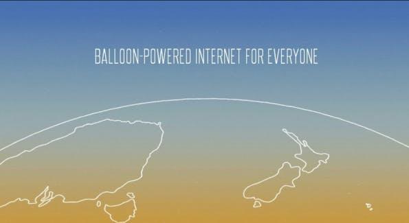 Für Project Loon will Google Heißluftballons zur Vernetzung der Welt einsetzen. (Bild: Google)