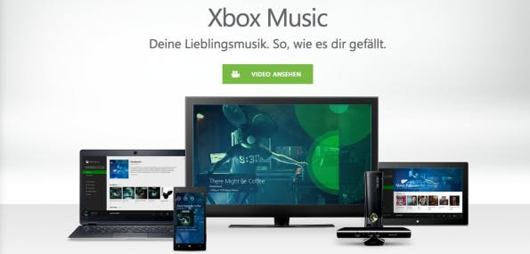 musikstreaming-dienste xbox music
