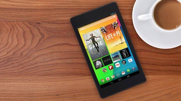 Nexus 7: Neues Google-Tablet ab Ende August für 269 Euro in Europa