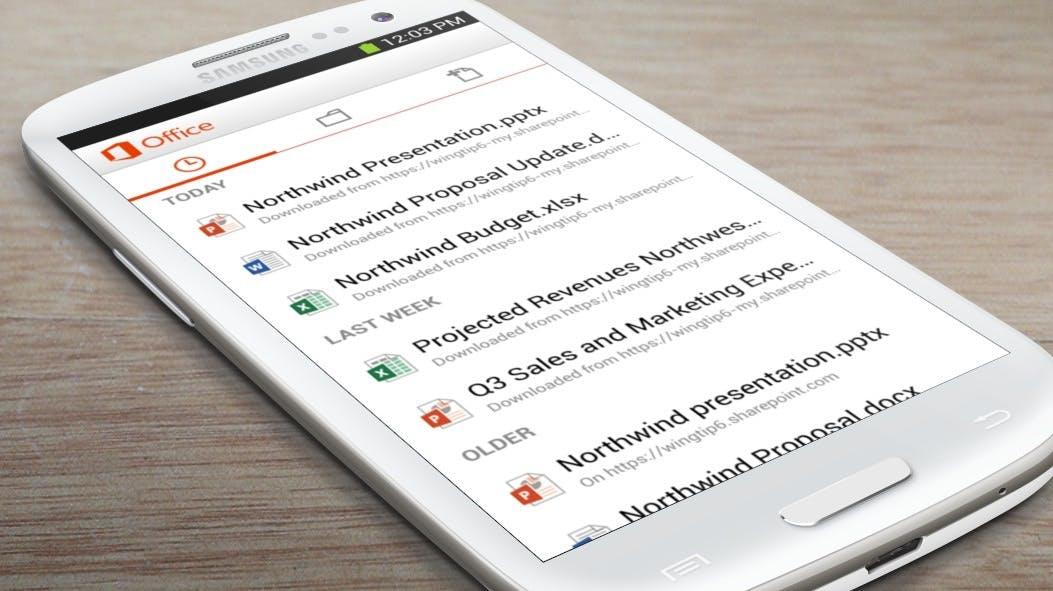 Microsoft Office: Jetzt auch als Android-App verfügbar