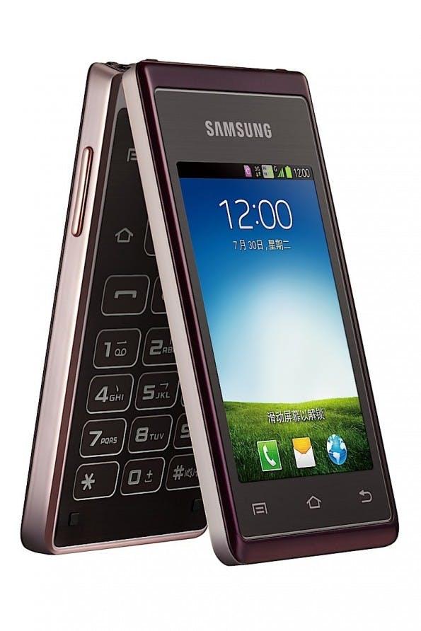 Wie aus Vergangenheit: Das Samsung Hennessy könnte optisch auch aus dem Jahr 2004 stammen.