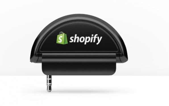 Shopify POS: Das Kartenleser-Dongle für das iPad. (Screenshot: Shopify)