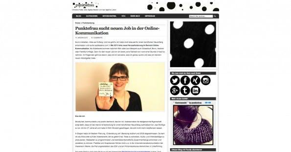 Bewerbung 2.0: Christine Heller hat eine eigene Web-Kampagne aufgesetzt um ihren zukünftigen Arbeitgeber zu finden. Mit Erfolg!