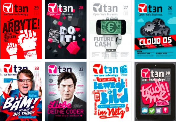 Das t3n Magazin: Wir setzten auch in Zukunft auf die gedruckte Version unseres Magazins.