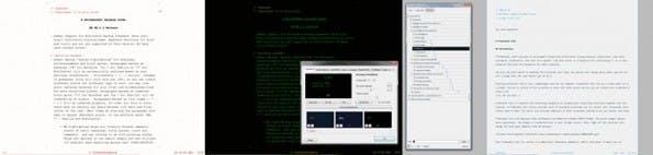 WriteMonkey: Vermutlich eines der besten Tools zum ablenkungsfreien Schreiben unter Windows. (Screenshots: WriteMonkey)