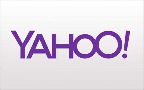 Yahoo: So sieht das erste der 30 Übergangslogos aus. (Bild: Yahoo)