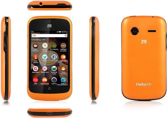 ZTE Open: Smartphone läuft auf Firefox OS. (Bild: ZTE)