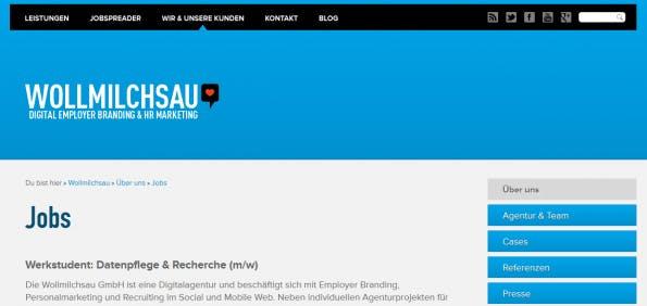 Employer Branding bei atenta.de