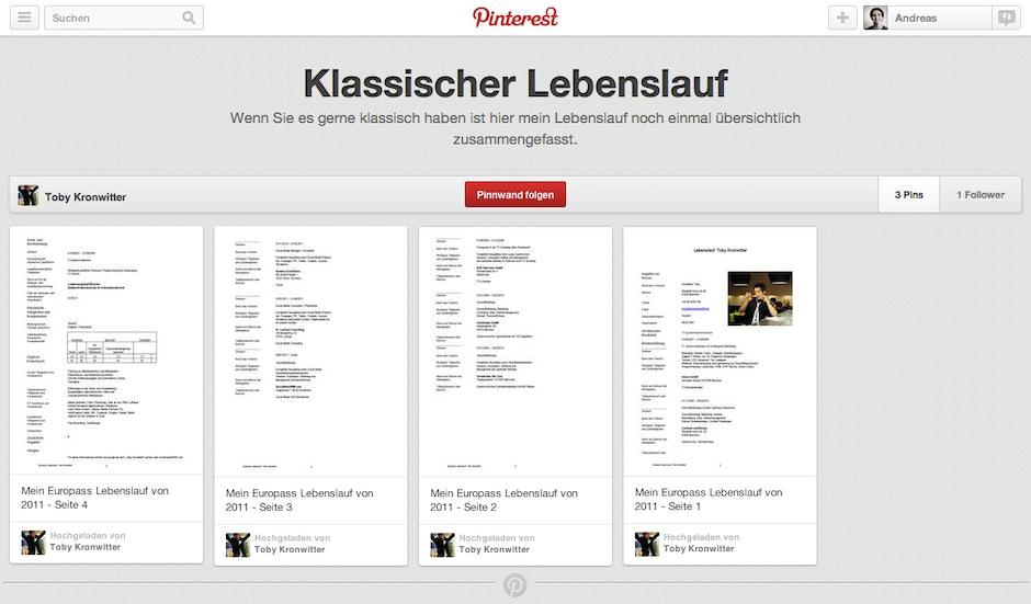 Online Bewerbungen Pinterest2 T3n Digital Pioneers