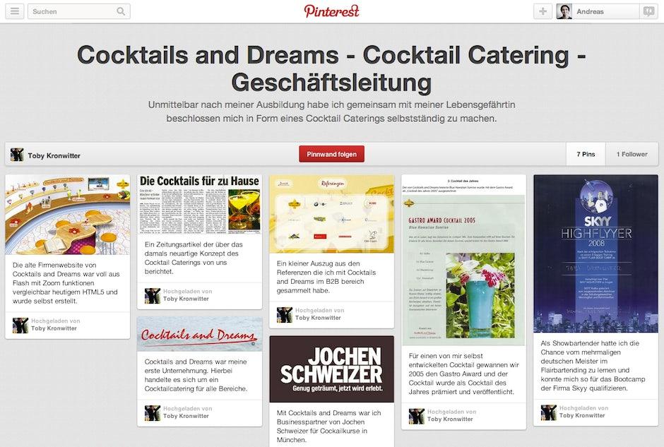 Online Bewerbungen Pinterest5 T3n Digital Pioneers