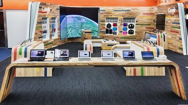 Erster Google-Shop in Deutschland eröffnet