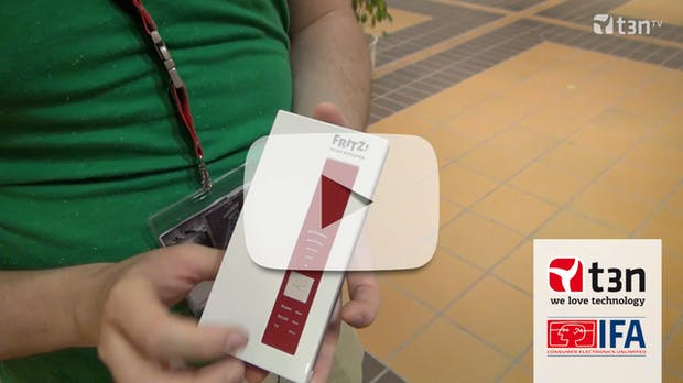 FRITZ!WLAN-Repeater DVB-C macht Kabelsender kabellos [IFA 2013]