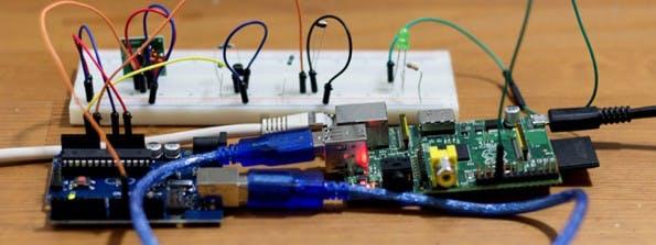 Heimcontrol.js: Heimautomation dank Raspberry Pi und Arduino. (Bild: Willi Thiel)
