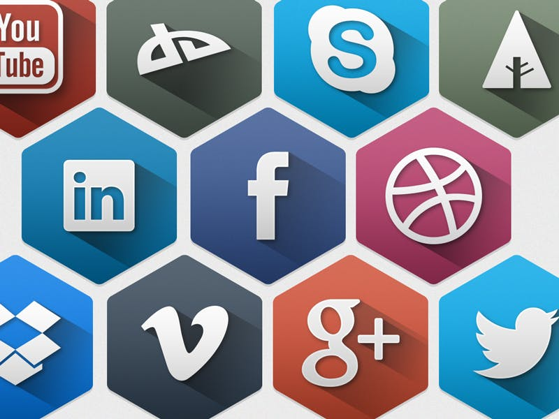 Long-Shadow-Design: 10 kostenlose Icon-Sets für dein Projekt