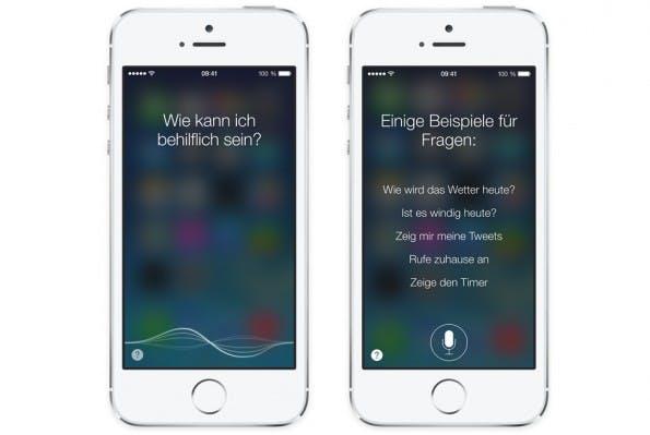 Es gibt auch einige iOS 7 Tricks, die Siri betreffen. (Bild: Apple)
