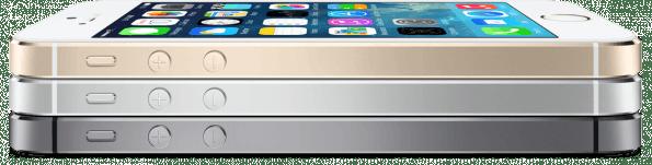 Wie bereits bekannt wird es das iPhone 5S in drei Farben geben: Gold, Grau und Silber.