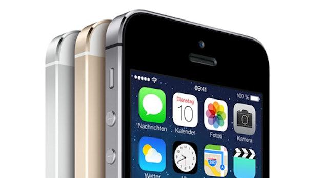 iPhone 5s: Neues 64-bit-Smartphone mit Fingerabdruck-Scanner von Apple