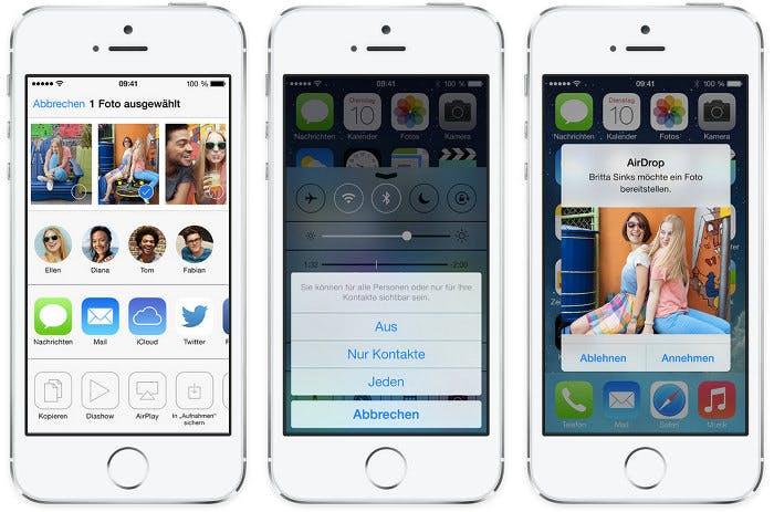 iOS 7 Gold Master können alle registrierten Entwickler jetzt herunterladen. (Bild: Apple)